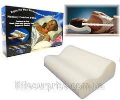 Подушка ортопедическая с памятью Memory Pillow