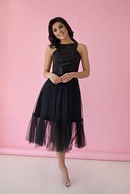 Платье ODIS 363 36 р. Черный