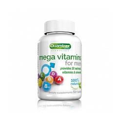 Quamtrax Mega Vitamins for Men 60 таблеток