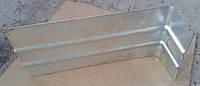 Кронштейн усиленный L-образный оцинкованный 200х50х80х1,5