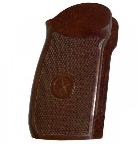 Накладка на рукоять ПМФ-1, МР-654К ( 32 серия ) бакелитовая