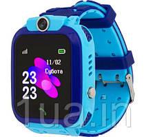 Годинник Smart Watch AmiGo GO002 Swimming Camera WiFi Blue UA UCRF Гарантія 12 місяців
