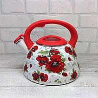 Чайник эмалированный со свистком Edenberg EB-1778 3,3л