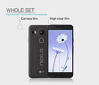 Защитная пленка Nillkin для LG Google Nexus 5X  глянцевая, фото 1