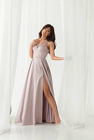 Платье ODIS 527 36 р. Лиловый