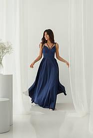 Платье ODIS 527 36 р. Синий