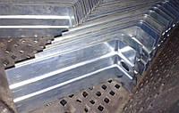 Кронштейн усиленный L-образный оцинкованный 300х50х80х1,5
