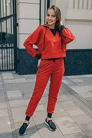 Спортивний костюм ODIS 602 38 р. Червоний