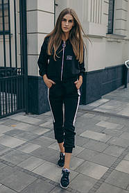 Спортивний костюм ODIS 605 40 р. Чорний