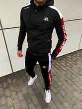 Мужские спортивные костюмы  Adidas(черный)