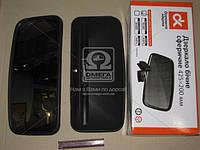 Зеркало боковое КАМАЗ 425х200 сферическое  (производство Дорожная карта ), код запчасти: DK-8201