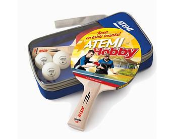 Набор настольного тенниса Atemi HOBBY (2 рак+3 шарика)