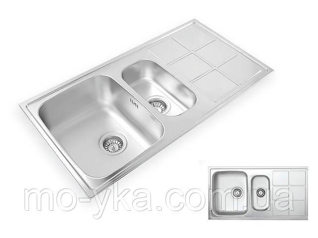 Кухонная мойка из нержавеющей стали Lotus LTL 950.500.15.