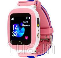 Годинник Smart Watch AmiGo GO004 Splashproof Camera+Led Pink UA UCRF Гарантія 12 місяців