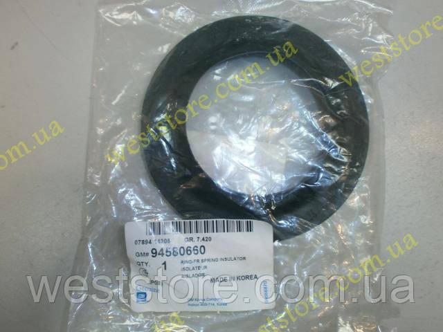 Гумка,проставка ізолятор пружини передньої Ланос Сенс Lanos Sens Nubira Lacetti GM 94580660