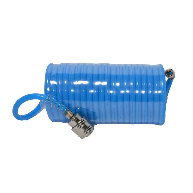 Шланг спиральный PU 5.5х8 мм, 10 м Htools