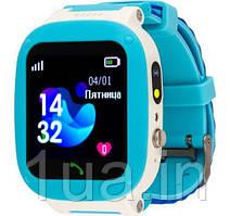 Годинник Smart Watch AmiGo GO004 Splashproof Camera+Led Blue UA UCRF Гарантія 12 місяців