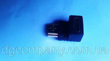 Перехідник гн HDMI - шт HDMI(кутовий)