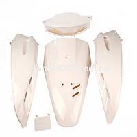 Комплект пластика HONDA DIO AF-27 (крашенный белый)