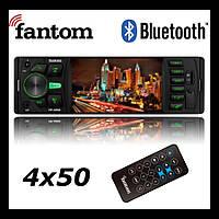 Магнитола 1din с экраном Fantom FP-4060 Black/Green