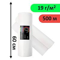 Простыни одноразовые в рулоне 0.6х500 м, 19 г/м2 Белый