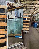 Зеркало настенное в металлической раме во весь рост 1700х700 мм большое напольное, фото 3
