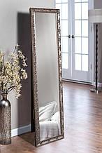 Підлогове дзеркало в кольорі графіт 1650х400 мм