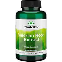 Корень Валерианы , Swanson, Valerian Root,  200 мг, 120 капсул