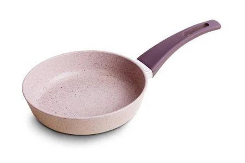 Сковорода антипригарна Talko світлий граніт без кришки 28 см