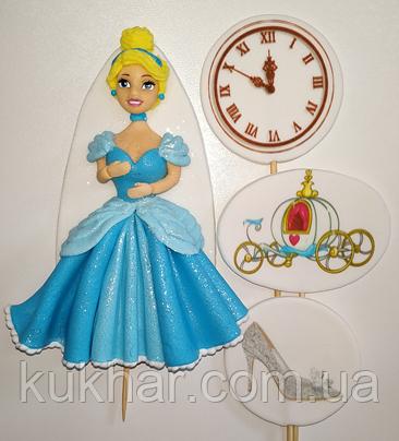 Украшение на торт принцесса Золушка