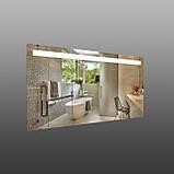 Прямокутне дзеркало з підсвічуванням 1200х600 мм, фото 2