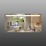 Прямокутне дзеркало з підсвічуванням 1200х600 мм, фото 3