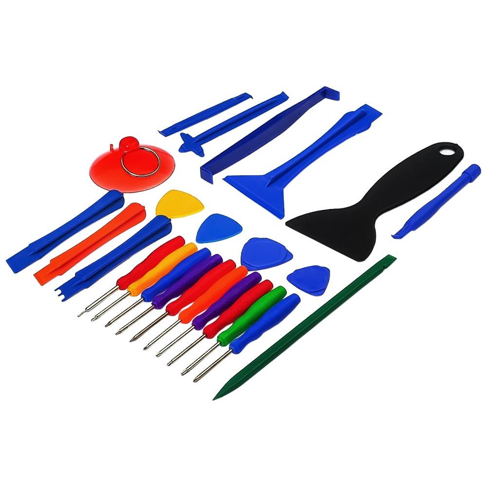 Набор инструментов  HH-026 для разборки iPhone, iPad, Mac (10 отвёрток, 2 шпателька, 8 лопаток, 4 медиатора,