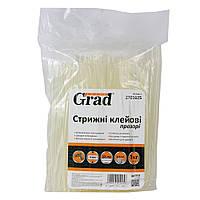Стержни клеевые Ø8×200мм 114шт 1кг (прозрачные) GRAD ()