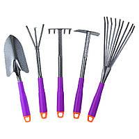 Набор посадочный из 5-ти предметов (полая ручка) (ABS) GRAD ()