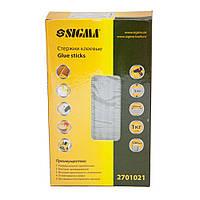 Стержни клеевые Ø8×200мм 100шт 1кг (прозрачные) SIGMA ()