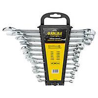Ключи рожково-накидные 12шт 6-22мм CrV head polished SIGMA ()