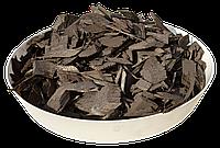 Щепа (тріска) декоративна кольорова GARDEN, 50л, чорна, квадратна, 750