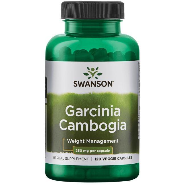 Екстракт гарцинії камбоджійської, Swanson, 500 мг, 120 капсул
