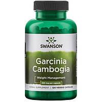 Екстракт гарцинії камбоджійської, Swanson, 500 мг, 120 капсул, фото 1