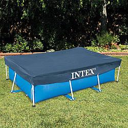 Intex 28038, тент для прямокутних басейнів 300х200см