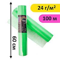 Простыни одноразовые в рулоне 0.6х100 м, 24 г/м2 - Зеленые (салатовые)