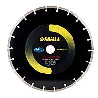 Круг алмазний HQ сегментний Ø300×25.4 мм, 4300об/хв SIGMA ()