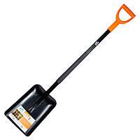 Лопата совкова з металевою ручкою 290×235×1170мм 2.25 кг FLORA ()