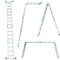 Сходи багатоцільова 4×4 (алюмінієва) FLORA ()