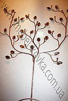 Кованая вешалка в форме дерева 3