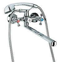 Змішувач VN 1/2 для ванни гусак прямий 350мм дивертор вбудований картріджний TAU ()