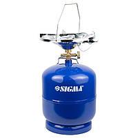Комплект газовый кемпинг с пьезоподжигом Comfort 8л SIGMA ()