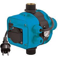 Контроллер давления электронный 1.1кВт Ø1 + розетка AQUATICA ()