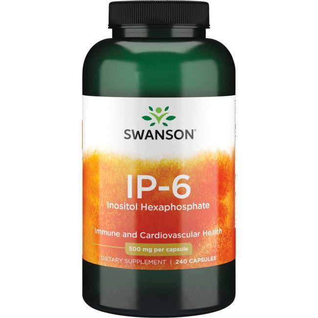 Інозитол IP-6, IP-6 Inositol Hexaphosphate, Swanson, 240 капсул